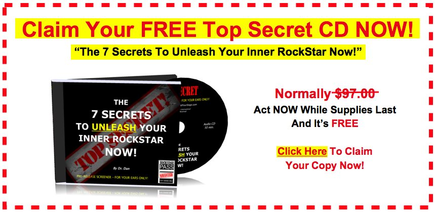 Claim Your Free CD Now